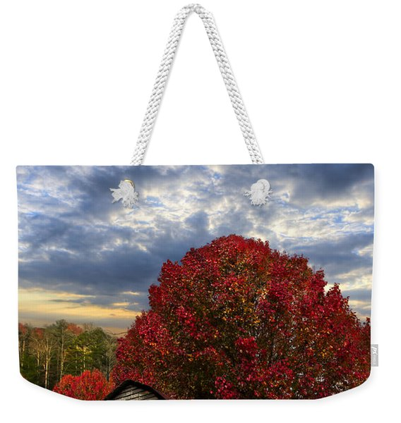 Pear Trees On The Farm Weekender Tote Bag