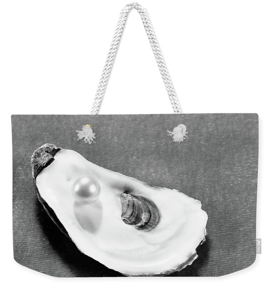 Pearl On Oyster Shell Weekender Tote Bag