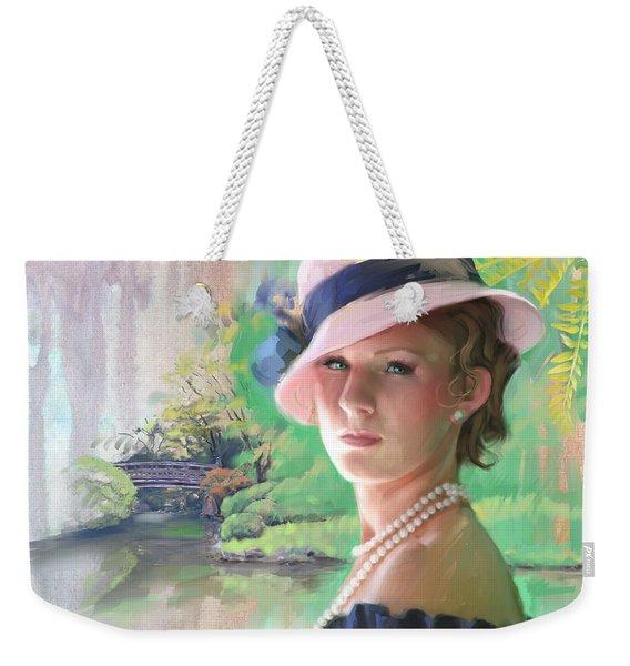 Pearls And Pink Weekender Tote Bag