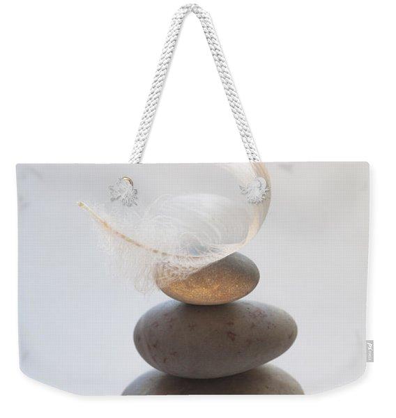 Pebble Pile Weekender Tote Bag