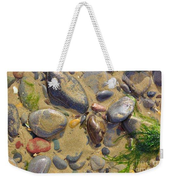 Pebbles On The Beach Weekender Tote Bag