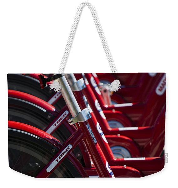Pedal Power Weekender Tote Bag