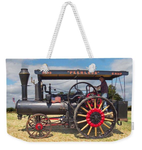 Peerless Steam Traction Engine Weekender Tote Bag