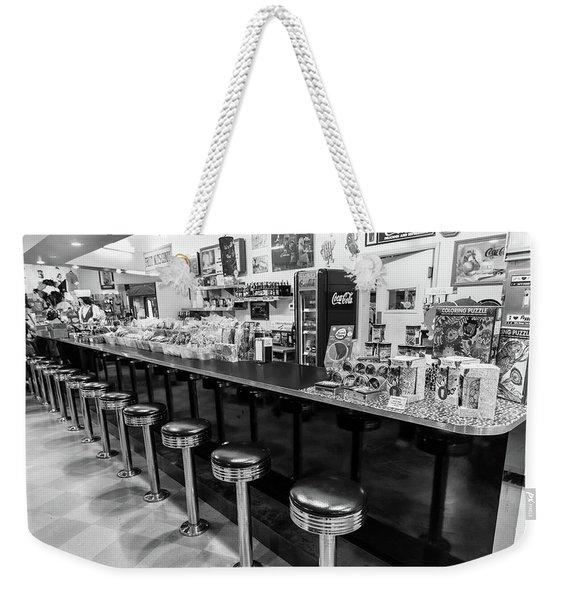 Peggy Sues Americana Route 66 Inspired Weekender Tote Bag