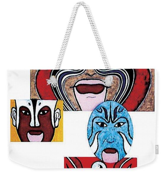 Peking Opera No.1 Weekender Tote Bag