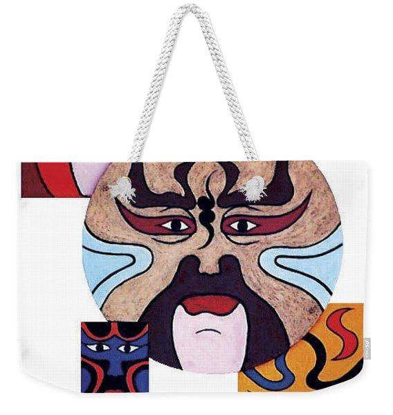 Pekingopera No.2 Weekender Tote Bag