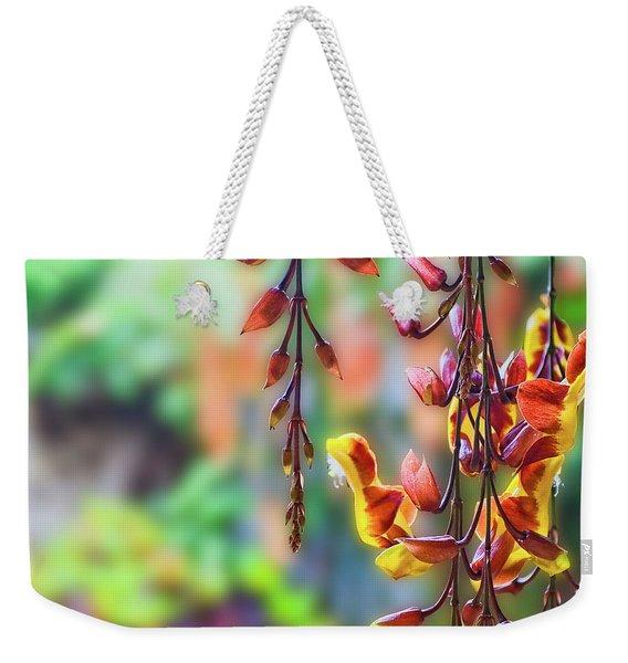 Pending Flowers Weekender Tote Bag