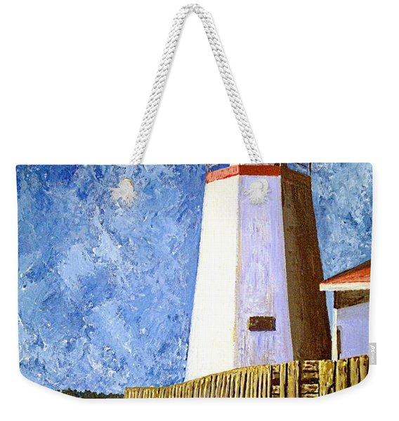 Pendlebury Lighthouse Weekender Tote Bag