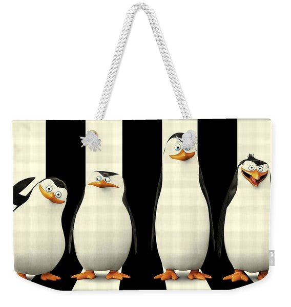 Penguins Of Madagascar Weekender Tote Bag