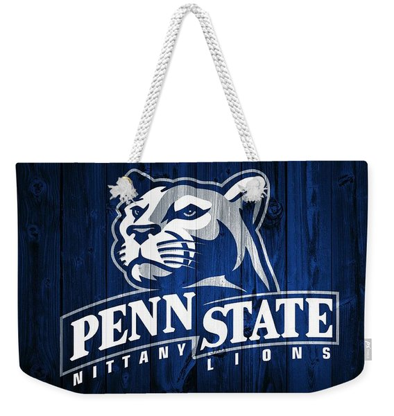 Penn State Barn Door Weekender Tote Bag