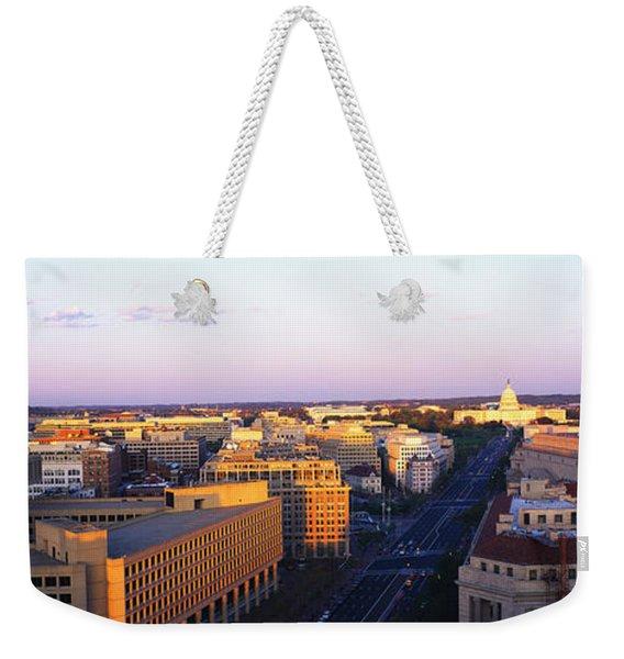 Pennsylvania Ave Washington Dc Weekender Tote Bag