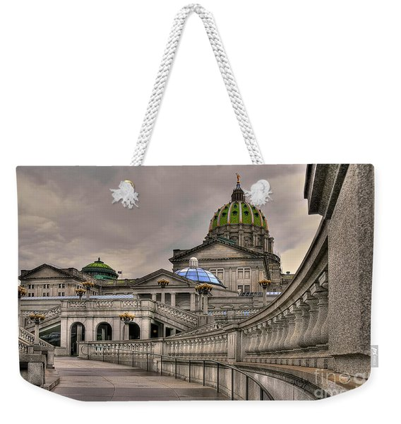 Pennsylvania State Capital Weekender Tote Bag
