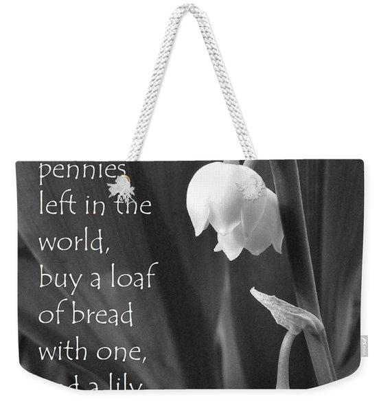 Penny Lily Weekender Tote Bag