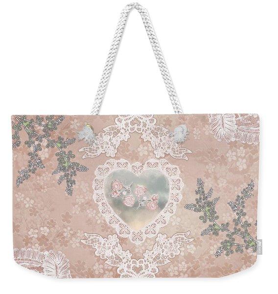 Penny Postcard Passionate Weekender Tote Bag