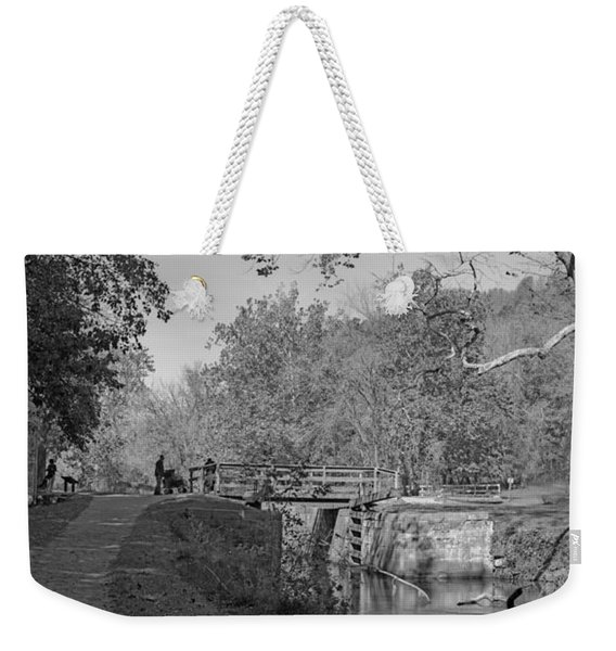 Pennyfield Lock Chesapeake And Ohio Canal Weekender Tote Bag