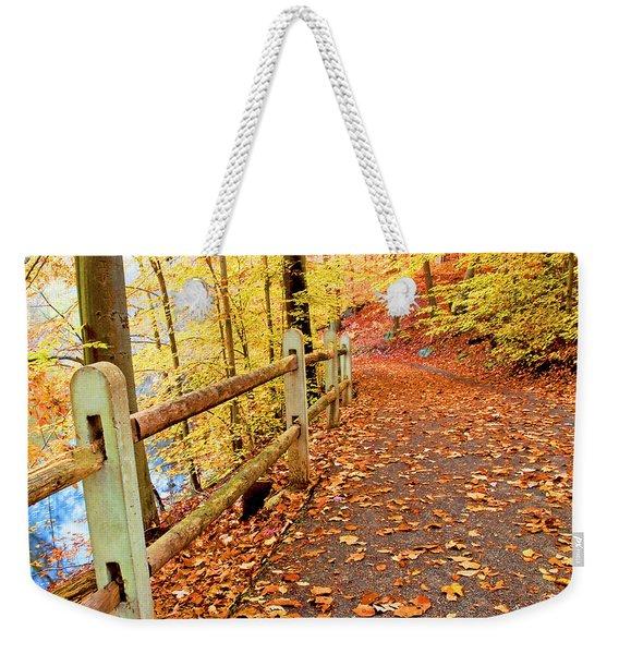 Pennypack Trail Philadelphia Fall Weekender Tote Bag