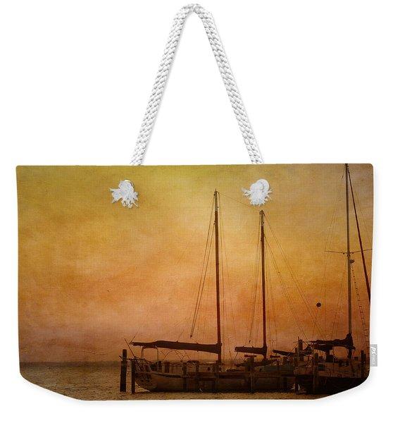 Pensacola Harbor Weekender Tote Bag