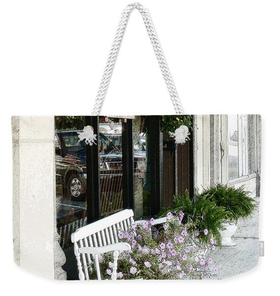 Pentunia Bench Weekender Tote Bag