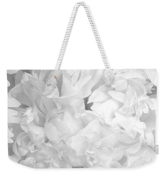 Peony Petals Weekender Tote Bag