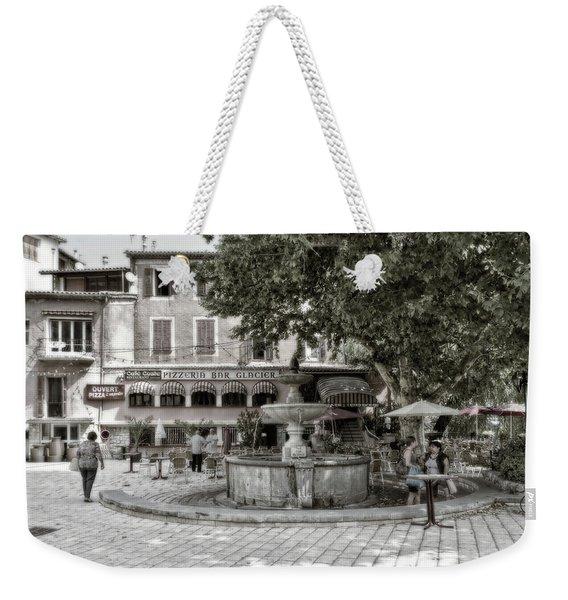 People On The Square Weekender Tote Bag