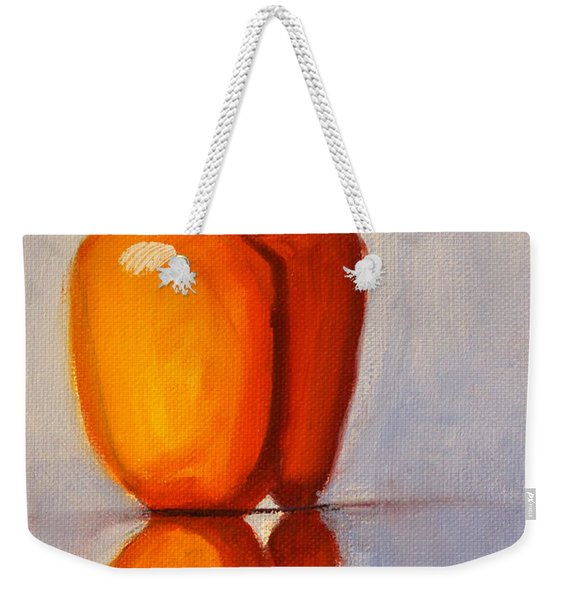 Pepper Reflection Still Life Weekender Tote Bag