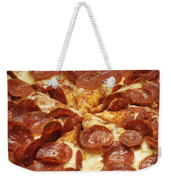 Pepperoni Pizza 1 Weekender Tote Bag