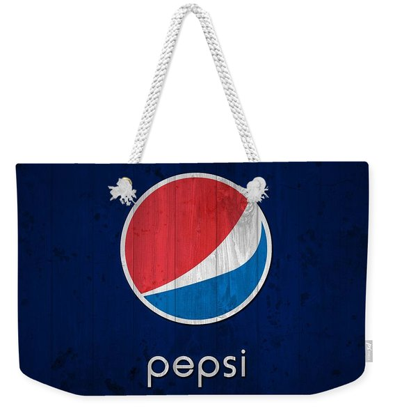Pepsi Barn Sign Weekender Tote Bag