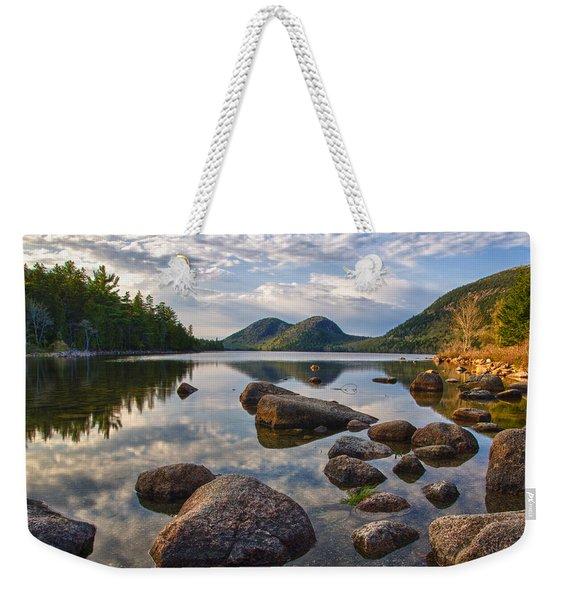 Perfect Pond Weekender Tote Bag