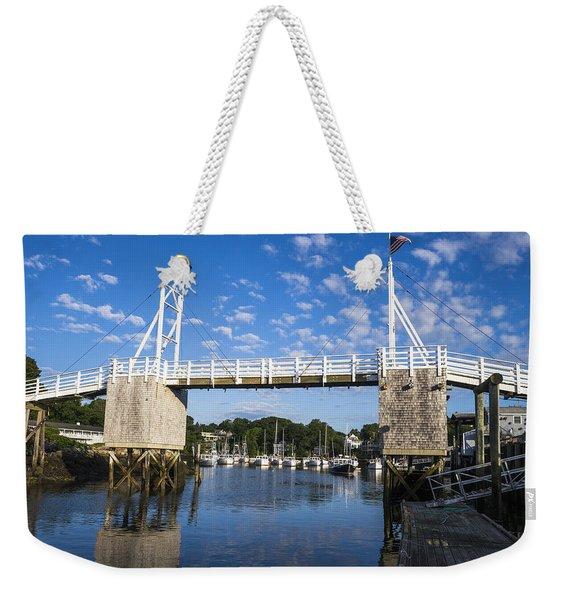 Perkins Cove - Maine Weekender Tote Bag
