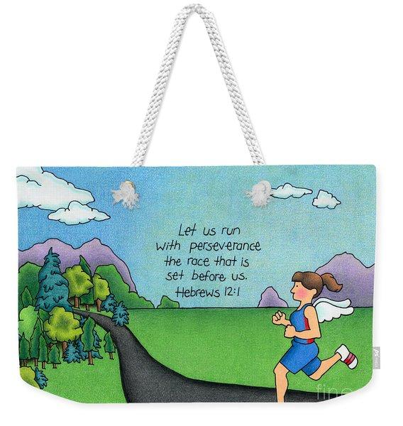 Perseverance Weekender Tote Bag