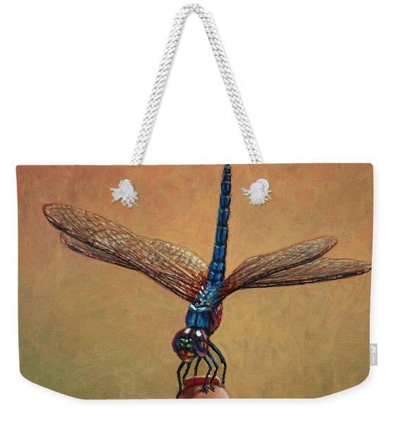 Pet Dragonfly Weekender Tote Bag
