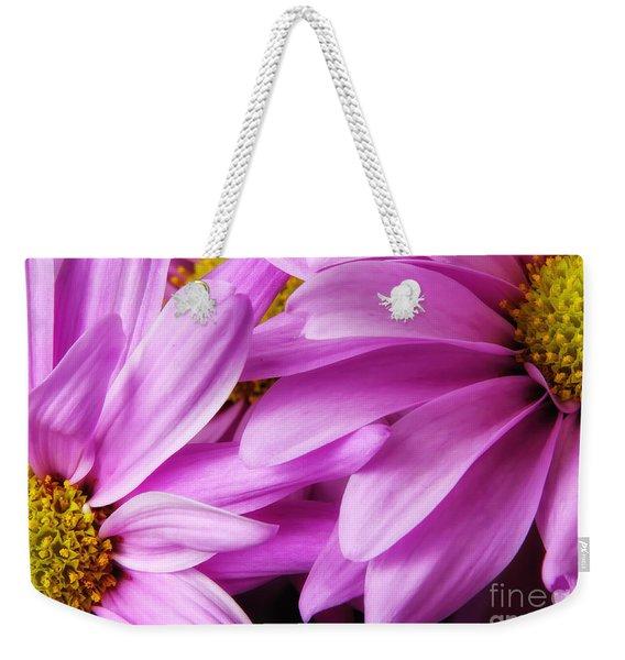 Petals Weekender Tote Bag