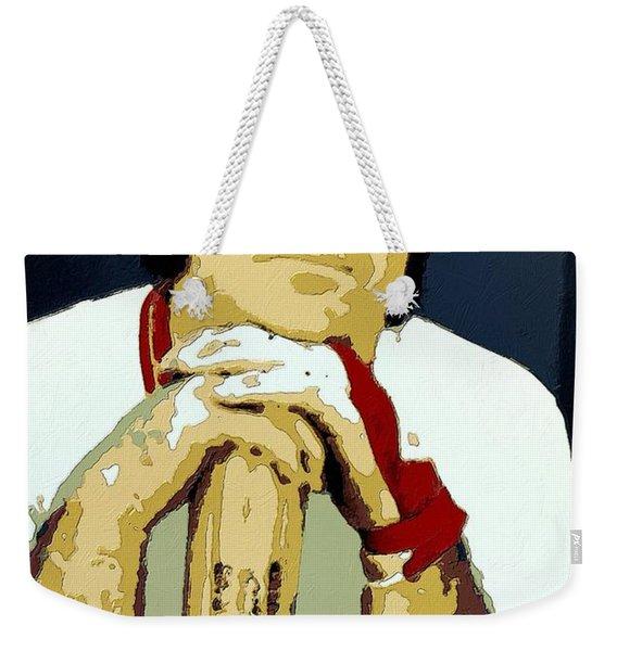 Pete Rose Poster Art Weekender Tote Bag