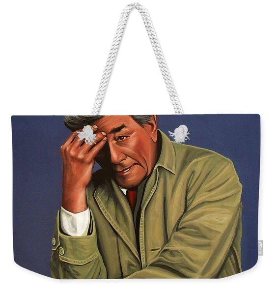 Peter Falk As Columbo Weekender Tote Bag