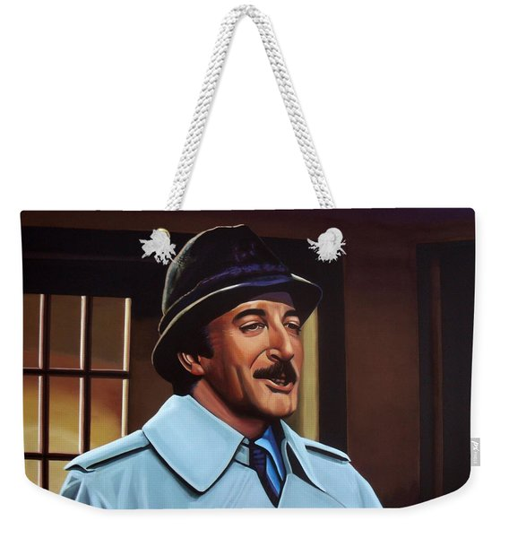 Peter Sellers As Inspector Clouseau  Weekender Tote Bag