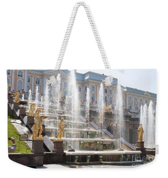 Peterhof Palace Fountains Weekender Tote Bag