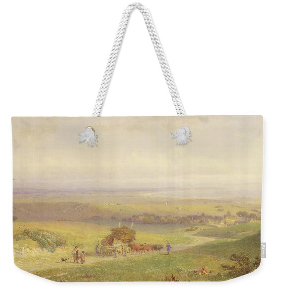 Pevensey Bay, Sussex, 1868 Wc, Bc, Graphite And Scraping On Paper Weekender Tote Bag