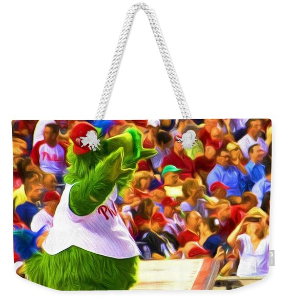 Phanatic In Action Weekender Tote Bag