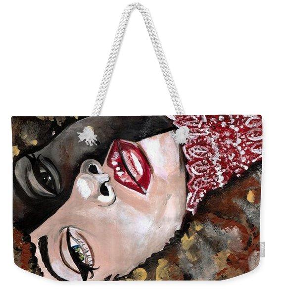 Phantom Beauty Weekender Tote Bag