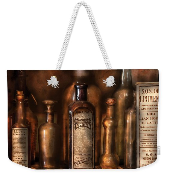 Pharmacist - Medicine For Asthma And Pain  Weekender Tote Bag