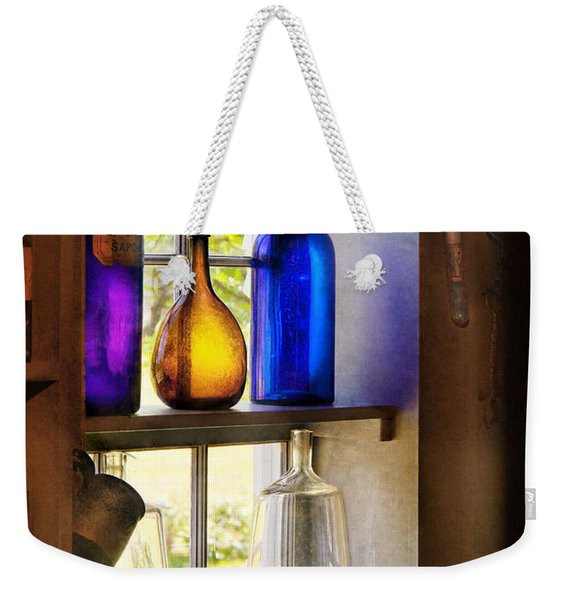 Pharmacy - Colorful Glassware  Weekender Tote Bag