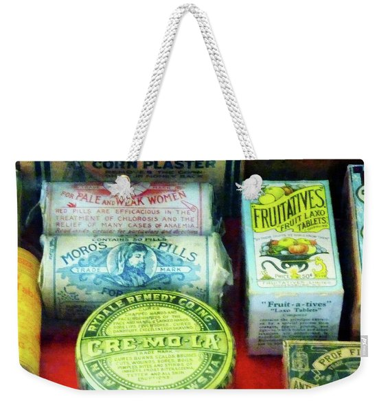 Pharmacy - For Aches And Pains Weekender Tote Bag