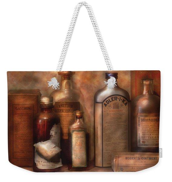 Pharmacy - Indigestion Remedies Weekender Tote Bag