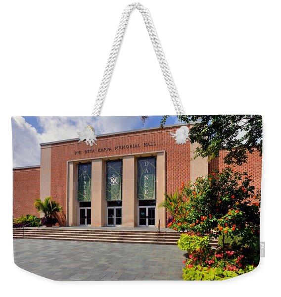 Phi Beta Kappa Hall Weekender Tote Bag