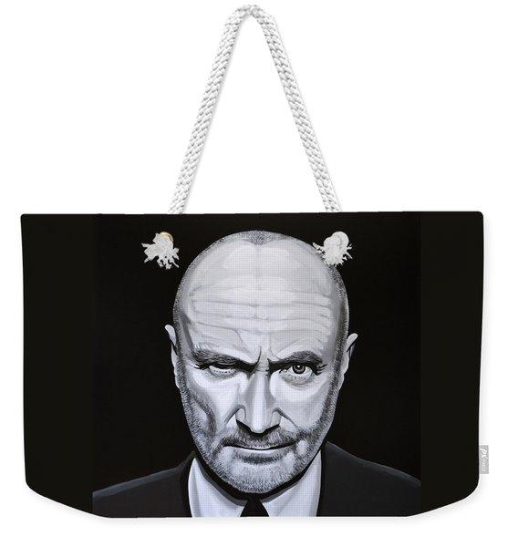 Phil Collins Weekender Tote Bag
