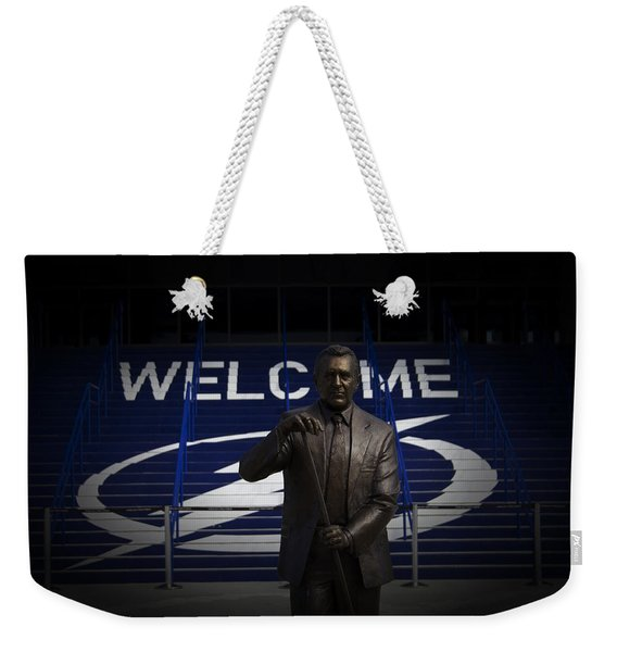 Phil Esposito Says II Weekender Tote Bag