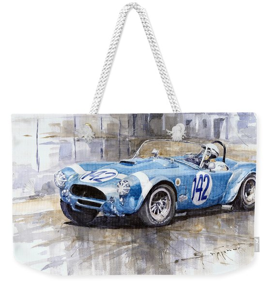 Phil Hill Ac Cobra-ford Targa Florio 1964 Weekender Tote Bag