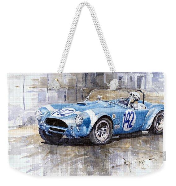 Phil Hill Ac Cobra-ford Targa Florio 1964 Weekender Tote Bag