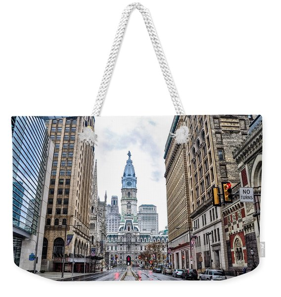 Philadelphia North Broad Street Weekender Tote Bag