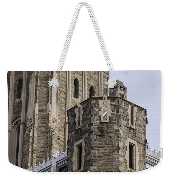 Philadelphia - Temple University Weekender Tote Bag